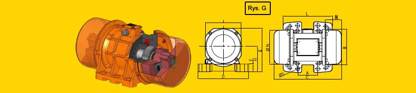 Elektrowibratory OLI-WAM seria MVE
