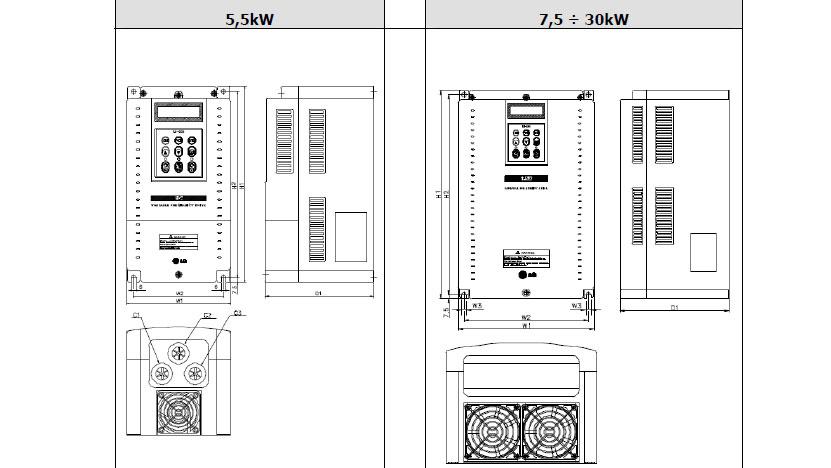 Falowniki LG iP5A