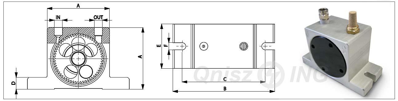 OT - wibratory pneumatyczne turbinowe